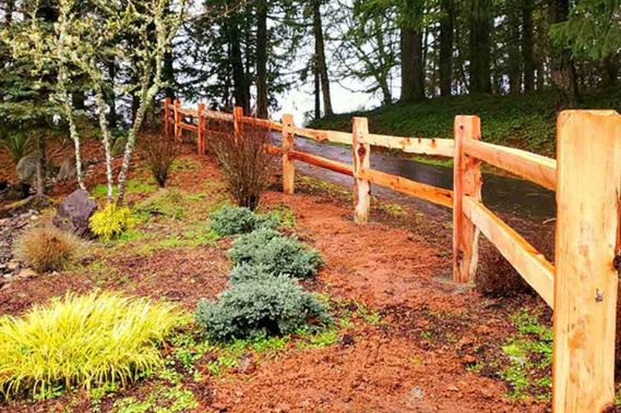 cedar fencing Portland OR